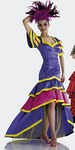 Samba Flanenco kjole