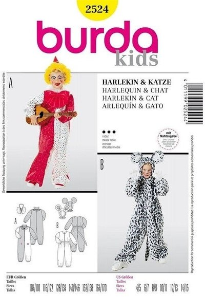 Harlequin og kat
