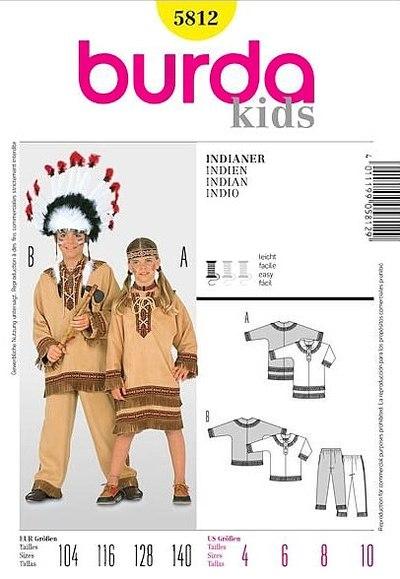 Indianersæt til børn