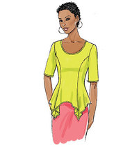 Top. Butterick 6096.