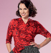 Top og nederdel . Butterick 6285.