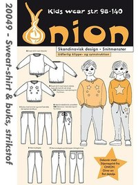 Sweatshirt og buks. Onion 20049.