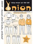 Onion 20049. Sweatshirt og buks.