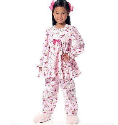 Børne-pige-top -kjole og -bukser