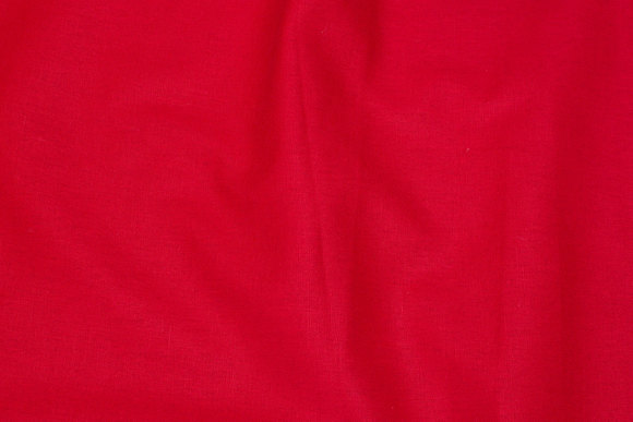 Let kvalitet i rød hør og bomuld