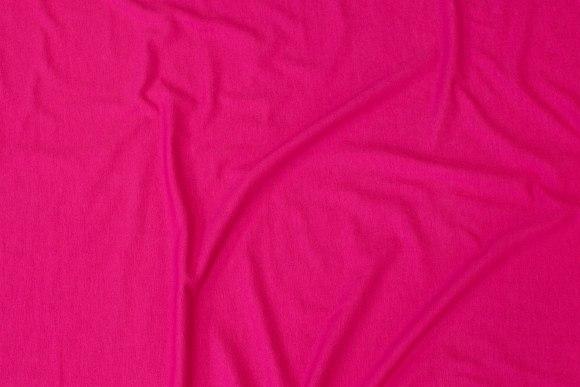 Let viscosejersey i mørk pink