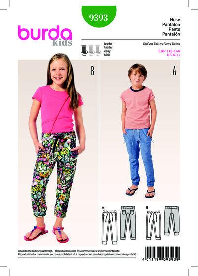 Sweatbukser, joggingbukser, elastisk talje