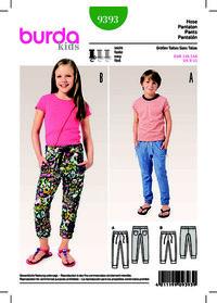 Burda mønster: Sweatbukser, joggingbukser, elastisk talje