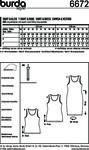Tank top, bluse og skjorte-kjole, figurtilpasset