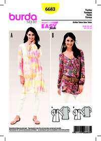 Tunika Top . Burda 6683.