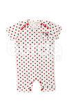 Baby bodysuit, knaplukke mellem ben