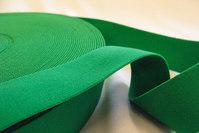 Elastik, grøn, 3 cm bred