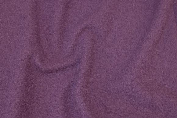 Flot støvlilla bouclé i 100% ren uld