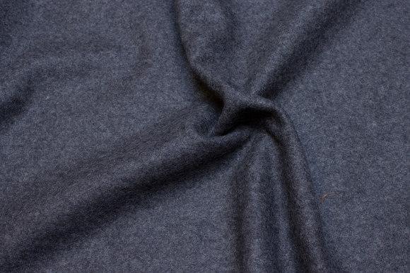 Mellemgrå og kraftig melton til frakker