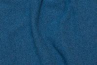 Uldstrik i mørk dueblå