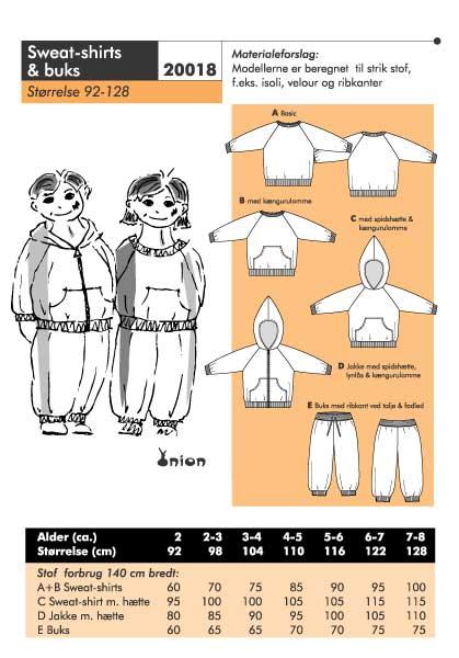 Sweatshirts og buks