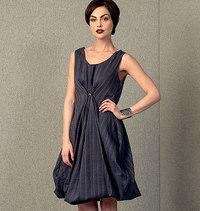 Kjole, Lynn Mizono. Vogue 1410.