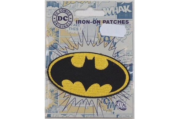 Batman logo strygemærke, 8 x 4,5cm