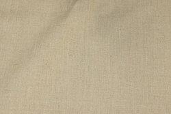 Coated textildug i naturfarvet hør