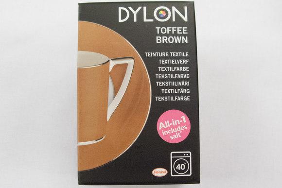 Dylon maskinfarve, toffee brown