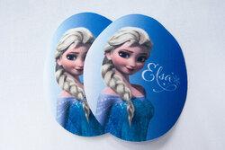 Elsa strygemærker 2stk pakning 9x7cm