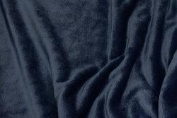 Superblød micro-fleece i mørk dueblå