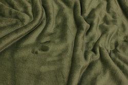 Superblød micro-fleece i støvgrøn