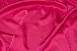 Pink, superflot sandvasket silke
