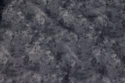 Bomuld i mørk gråblå batik-look