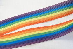 Elastik regnbue 3,3cm