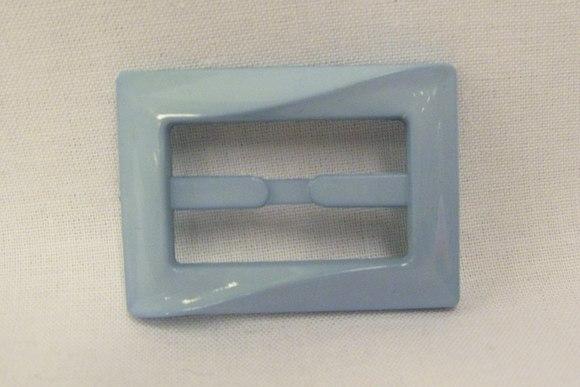 Bæltespænde lyseblå 3cm