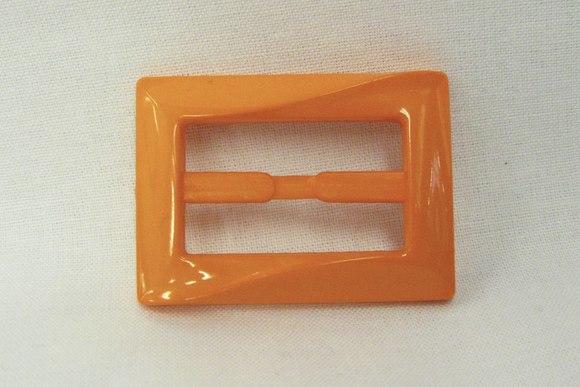 Bæltespænde orange 3cm