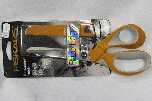 Fiskars razor edge stof saks 23cm