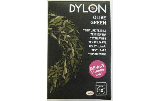 Dylon maskinfarve, oliven grøn