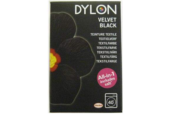 Dylon maskinfarve, sort