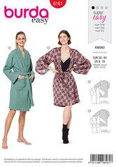 Kimono, badekåbe. Burda 6161.