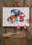 Permin 34-5223. Julepakkekalender med Nisse og hest.