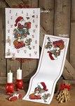 Permin 34-5641. Julepakkekalender med ræv, egern og julemand.
