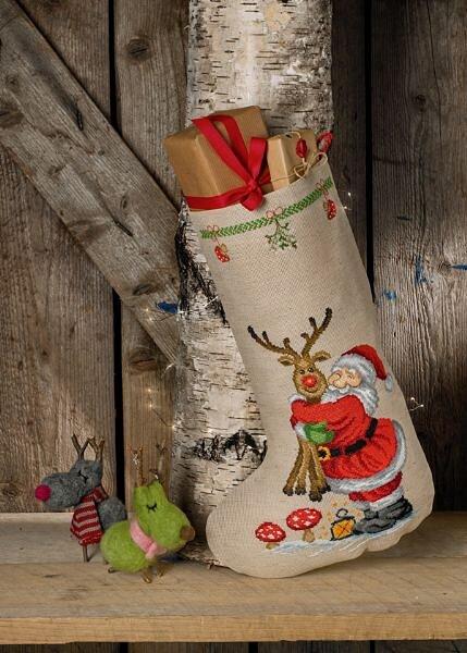Julesok Julemand med Rudolf