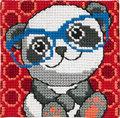 Permin 9120. Panda med briller.