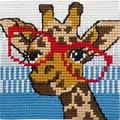 Permin 9125. Giraf med briller.