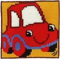 Permin 9140. Lille rød bil.
