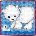 Permin 9163. Isbjørne, mor og unge.