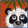 Permin 9311. Panda under palme.