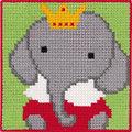 Permin 9312. Elefant med krone.