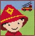 Permin 9315. Dreng som brandmand.