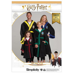 Harry Potter Unisex morgenkåber. Simplicity 9022.