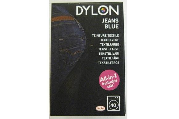 Dylon maskinfarve, jeans blå