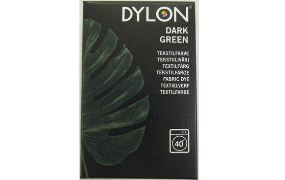 Dylon maskinfarve, mørk grøn