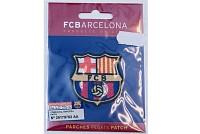 FC Barcelona strygemærke ca. 5 x 5 cm